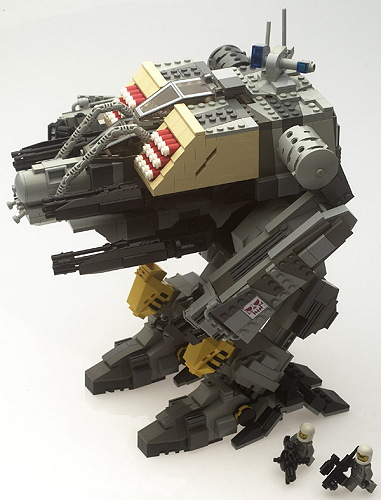 Brikwars Forums View Topic Mech Instructions Secrets Of The