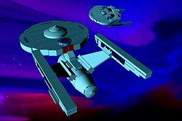 Battle in the Mutara Nebula from Star Trek II