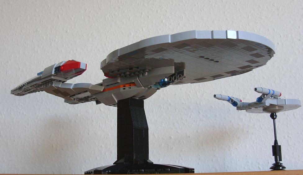 lego star trek ships instructions